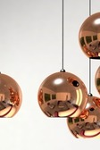 Lamp New Copper Ball A