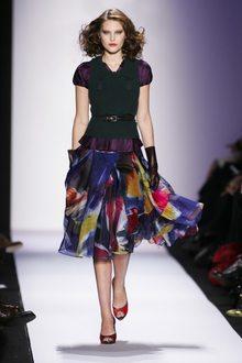 пышные юбки от Diane Von Furstenberg.