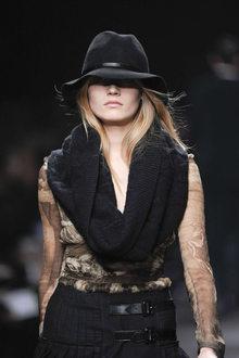 Рхема 5 - шарф хомут схема вязания.