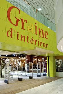 Graine d 39 int rieur palais des congr s boutiques 4186 for Graine d interieur