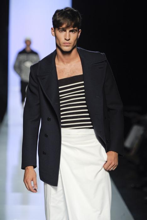 jean paul gaultier spring summer 2010 menswear fashion week 5035 saudi arabia