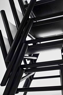 Tom Dixon Peg Chairs Stacked Brand Image