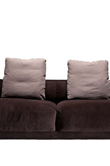 Driade Dwan Terry Bedda Three Seater Sofa